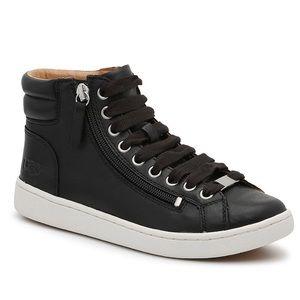 UGG Olive black high top sneakers